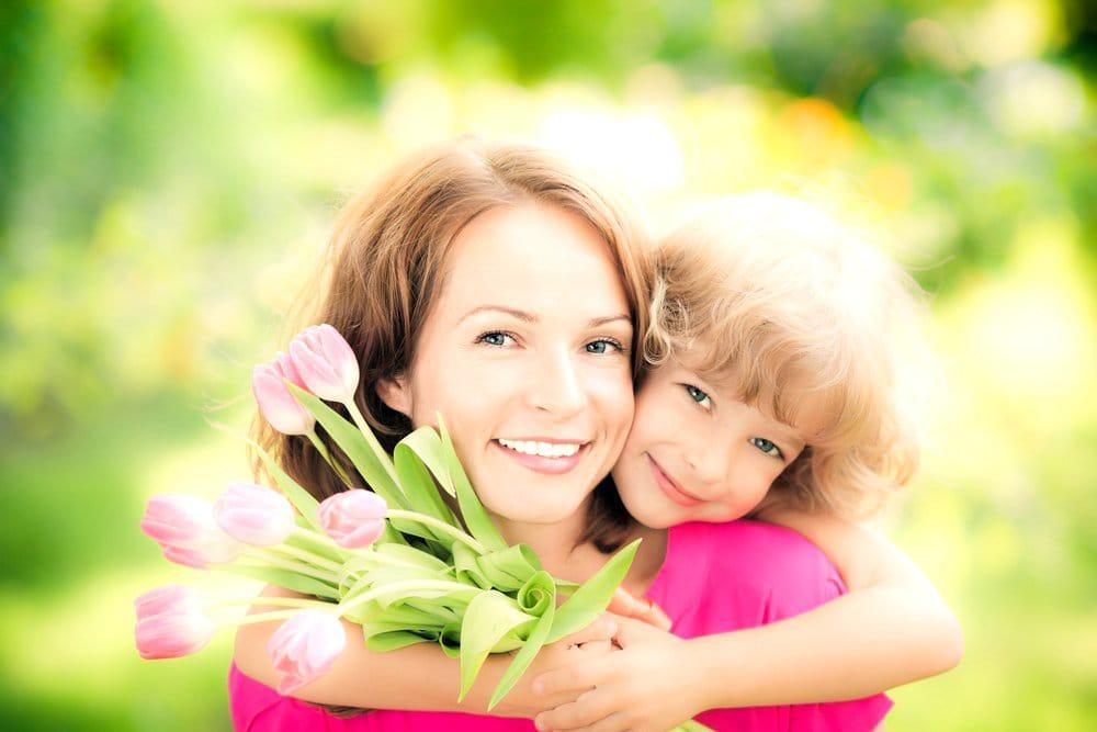 Картинки детские день матери