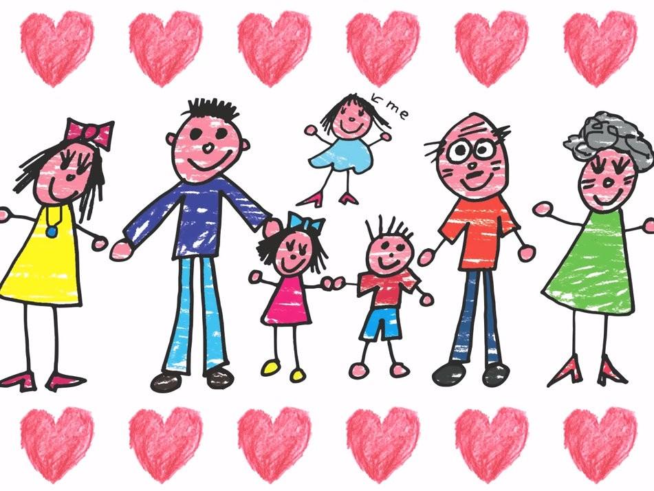 Люблю свою семью картинки на английском языке